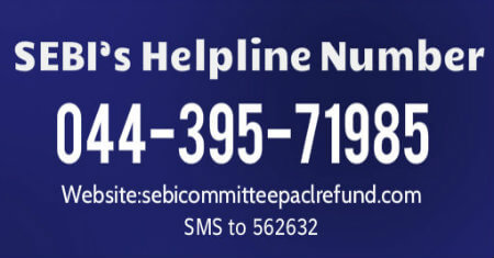 SEBI Helpline Number